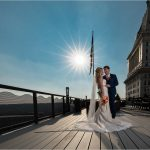 Cincinnati Wedding Photography Starburst bride groom