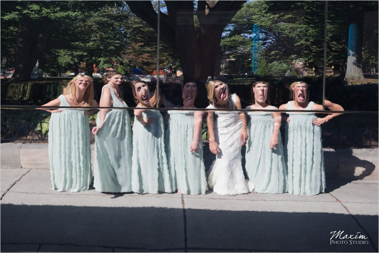Washington Park Cincinnati Bridal Party