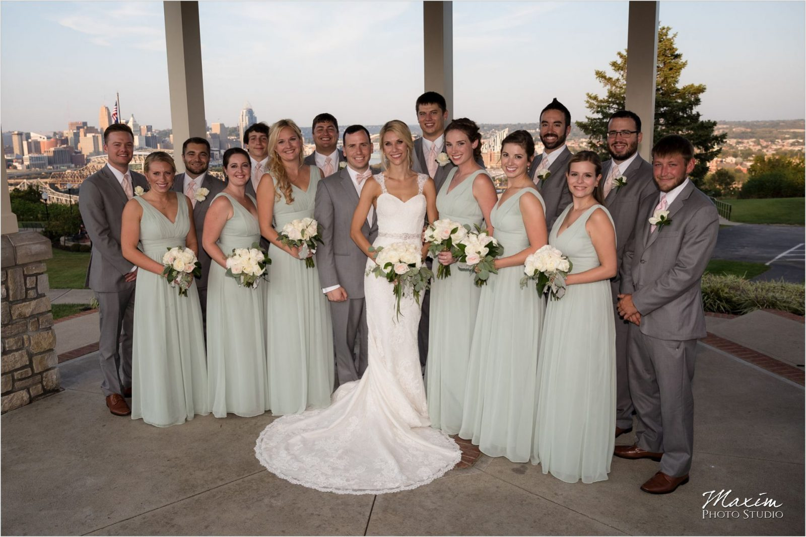 Drees Pavilion Covington Kentucky Wedding
