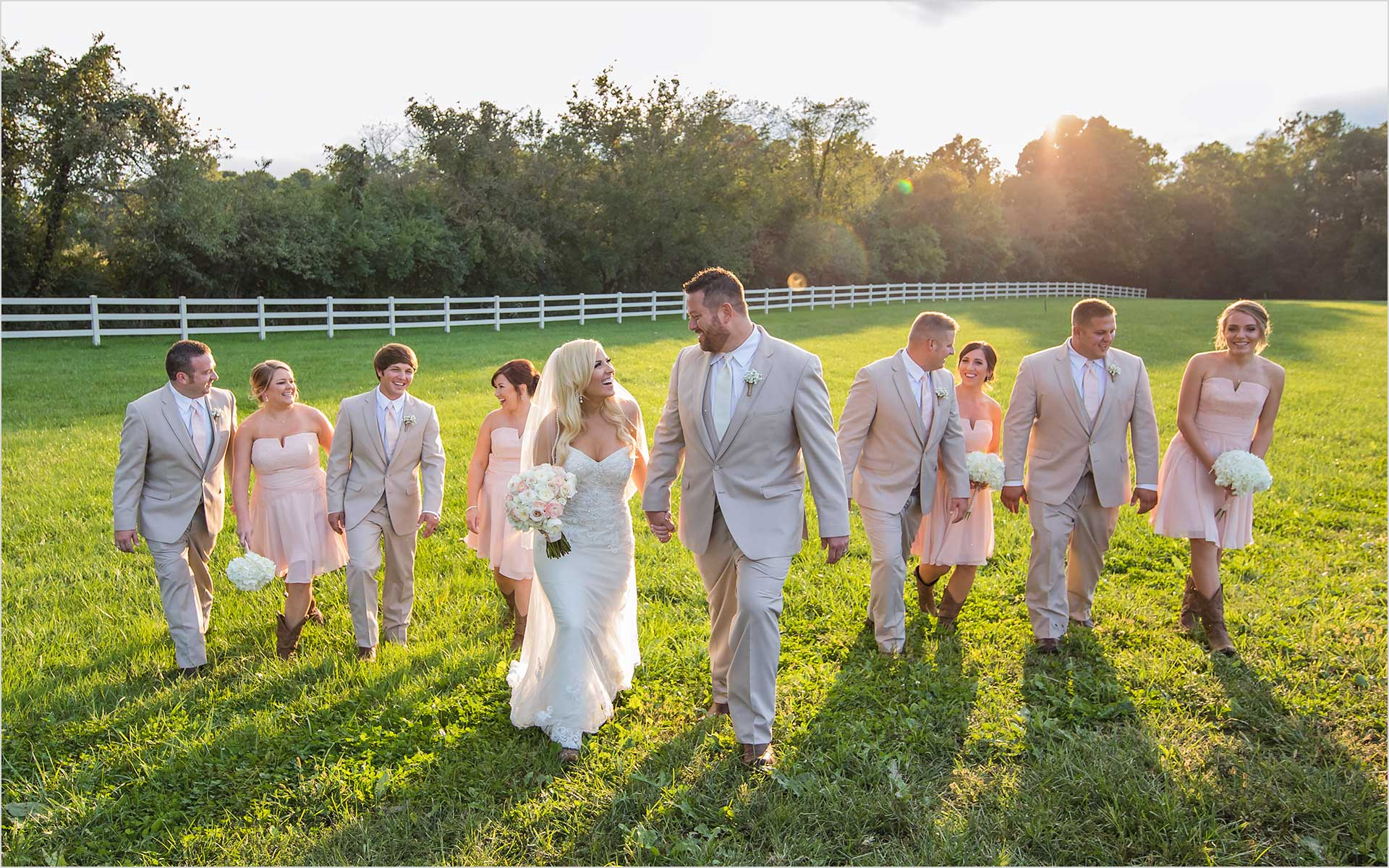 Rolling Meadows Ranch Ohio Wedding