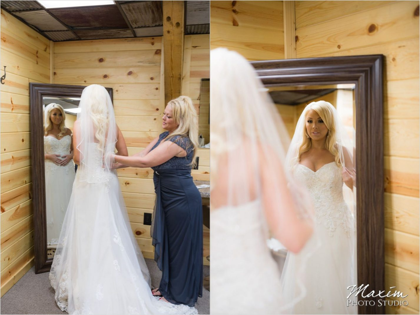 Rolling Meadows Ranch Lebanon Ohio bride preparations