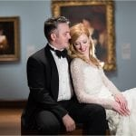 Cincinnati Wedding Photographers Art Museum bride groom