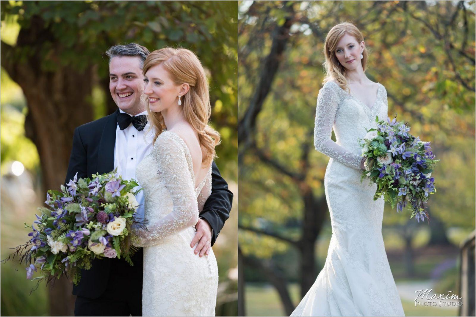 Cincinnati Wedding Photographers Art Museum Eden Park bride groom portraits