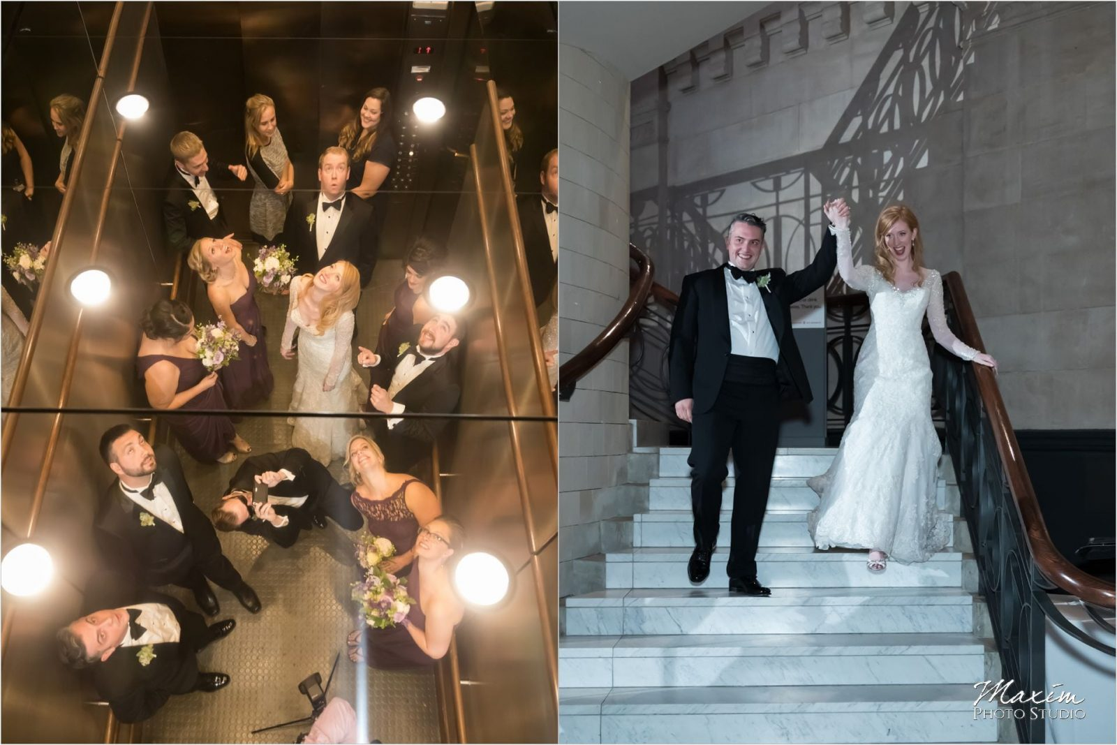 Cincinnati Wedding Photographers Art Museum reception