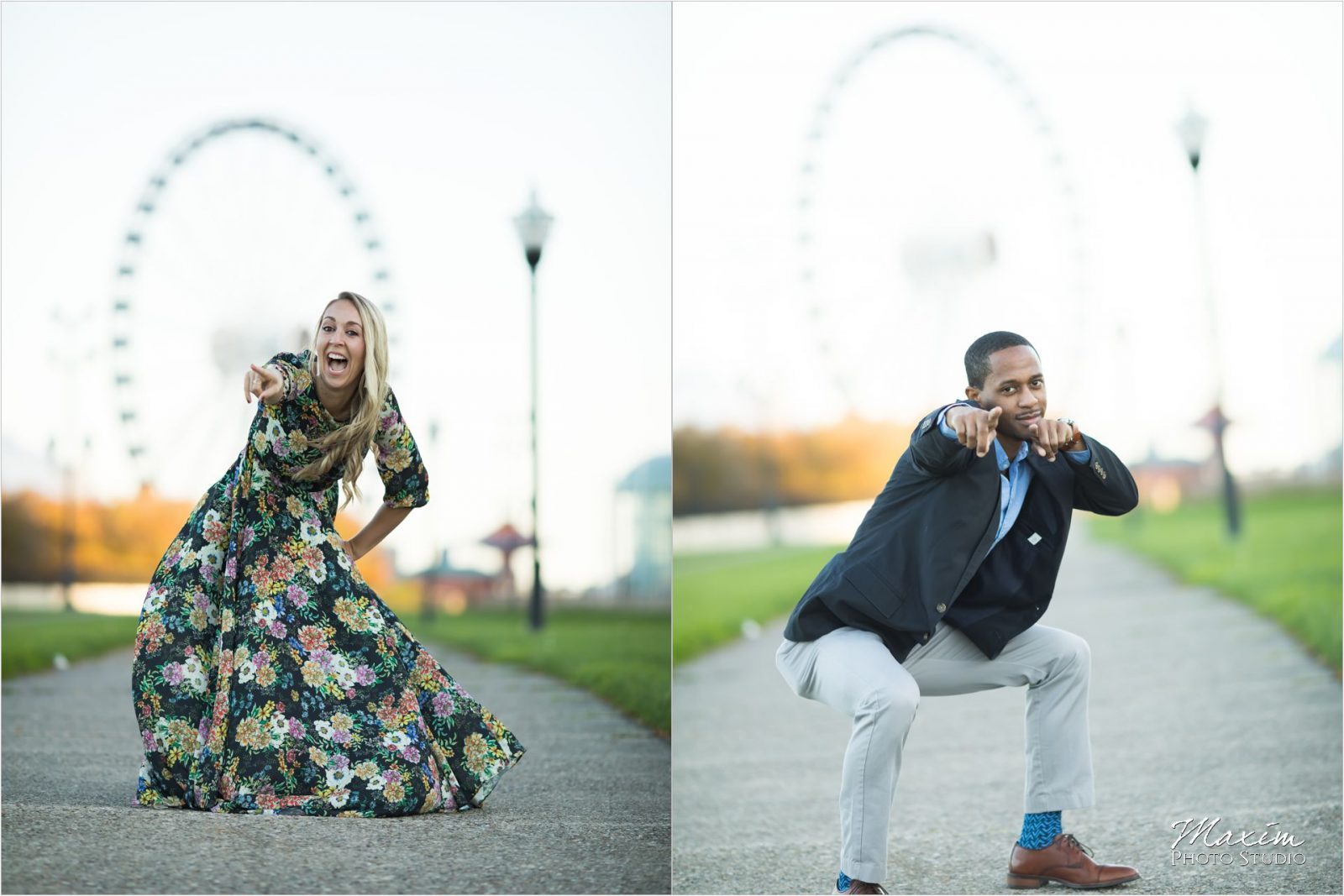 Navy Pier Chicago Centennial Wheel Engagement