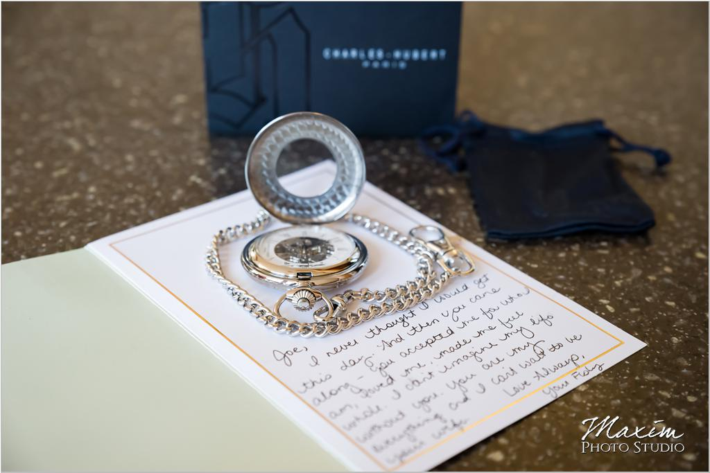 Cincinnati wedding watch gift