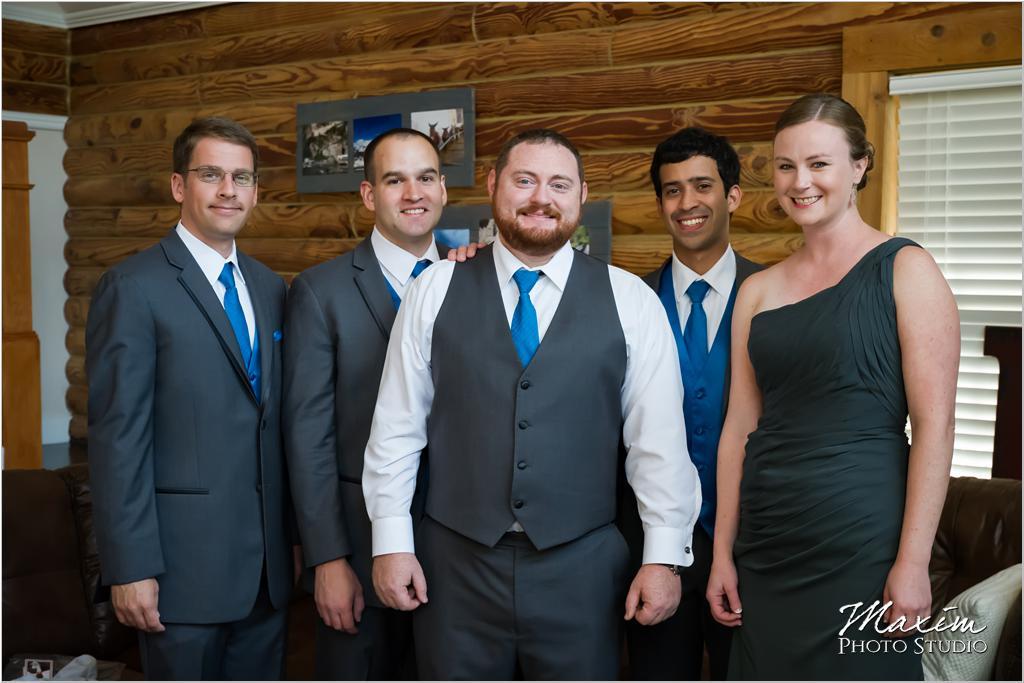 Cincinnati groom groomsmen