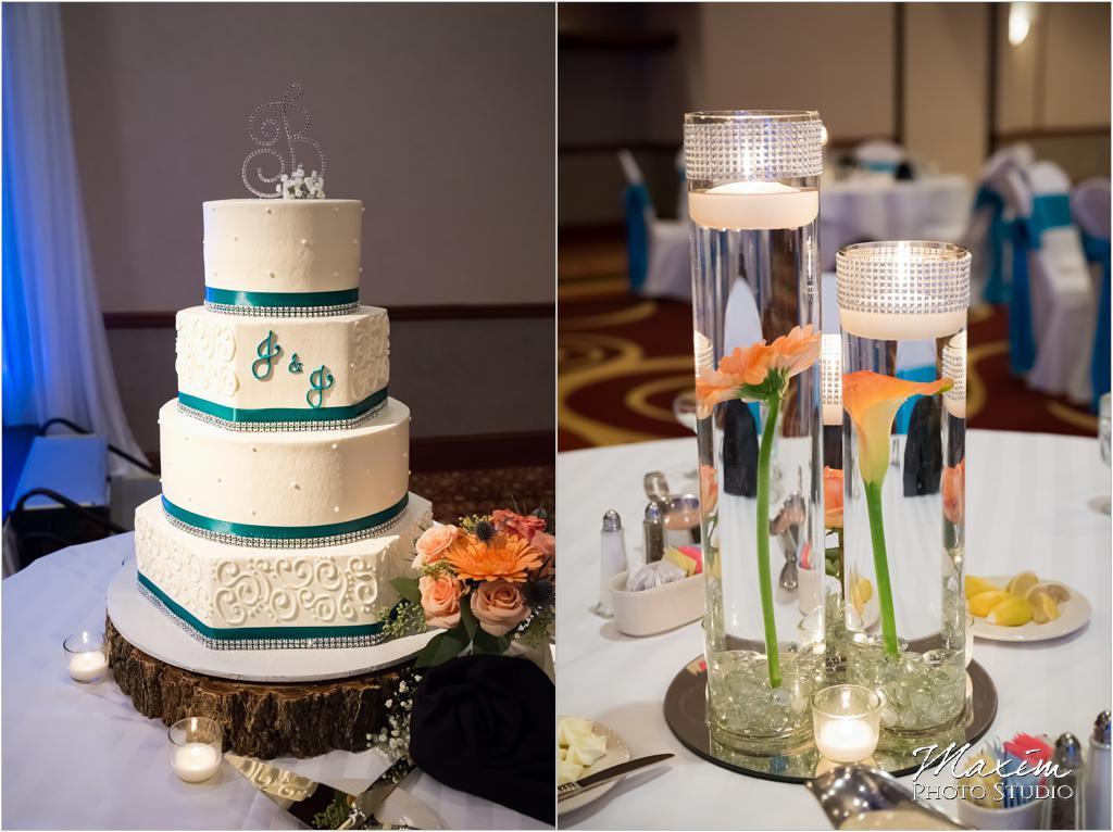 Artrageous Dessert Cincinnati Wedding cake
