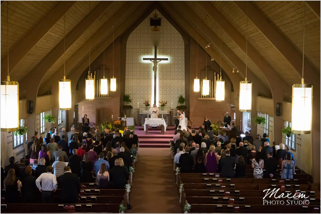 Our lady of the Rosary Cincinnati wedding ceremony