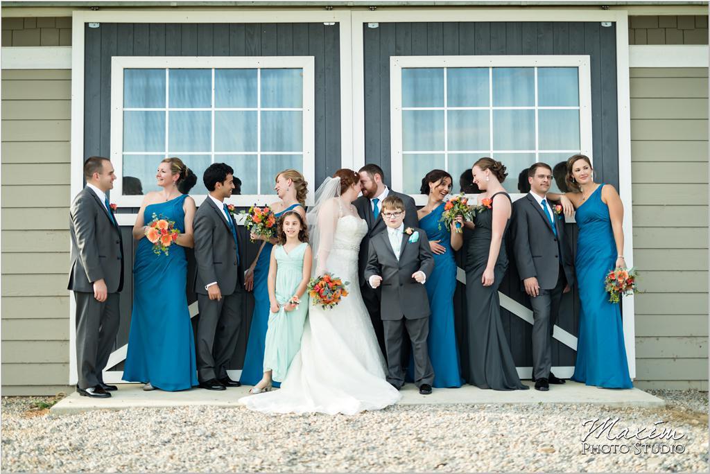 Cincinnati Horse farm wedding pictures