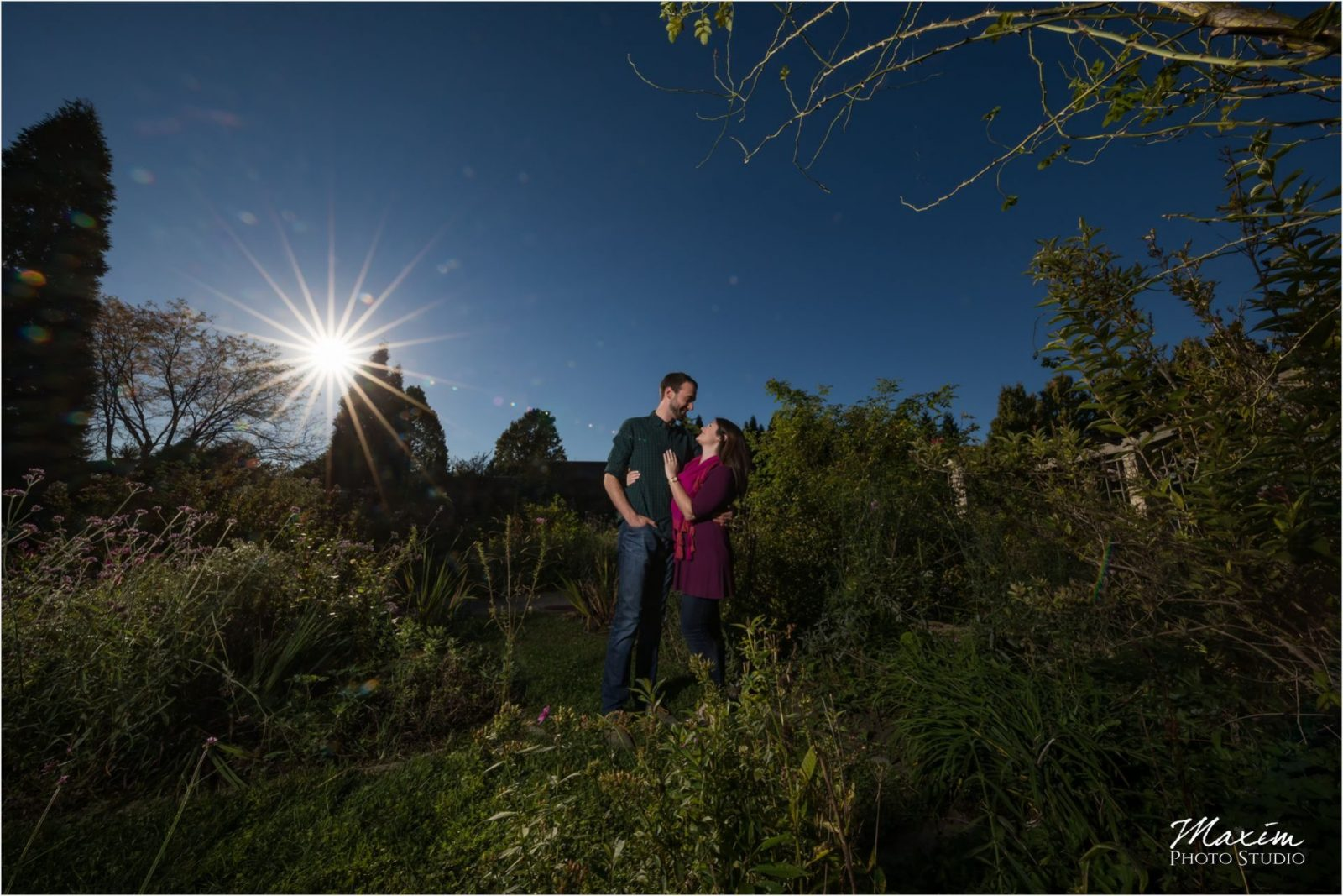 Dayton Wedding Photography Wegerzyn Gardens Engagement