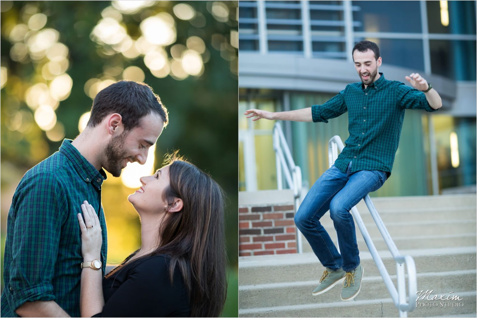 Dayton Wedding Photographers University of Dayton Engagement