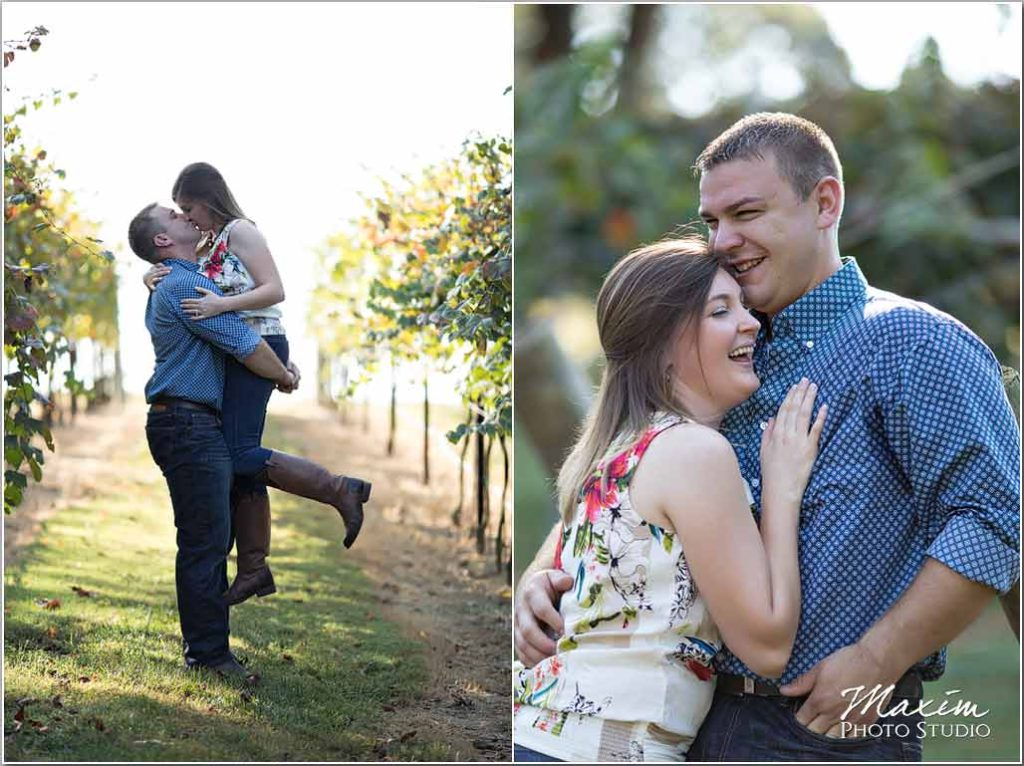 Monteluce Winery Dahlonega Georgia Engagement