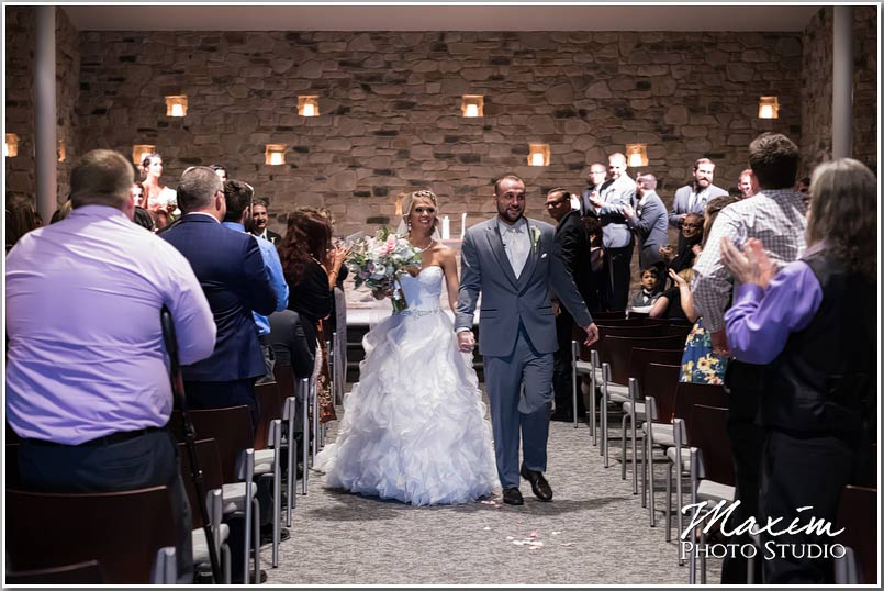 Crossroads Church wedding ceremony
