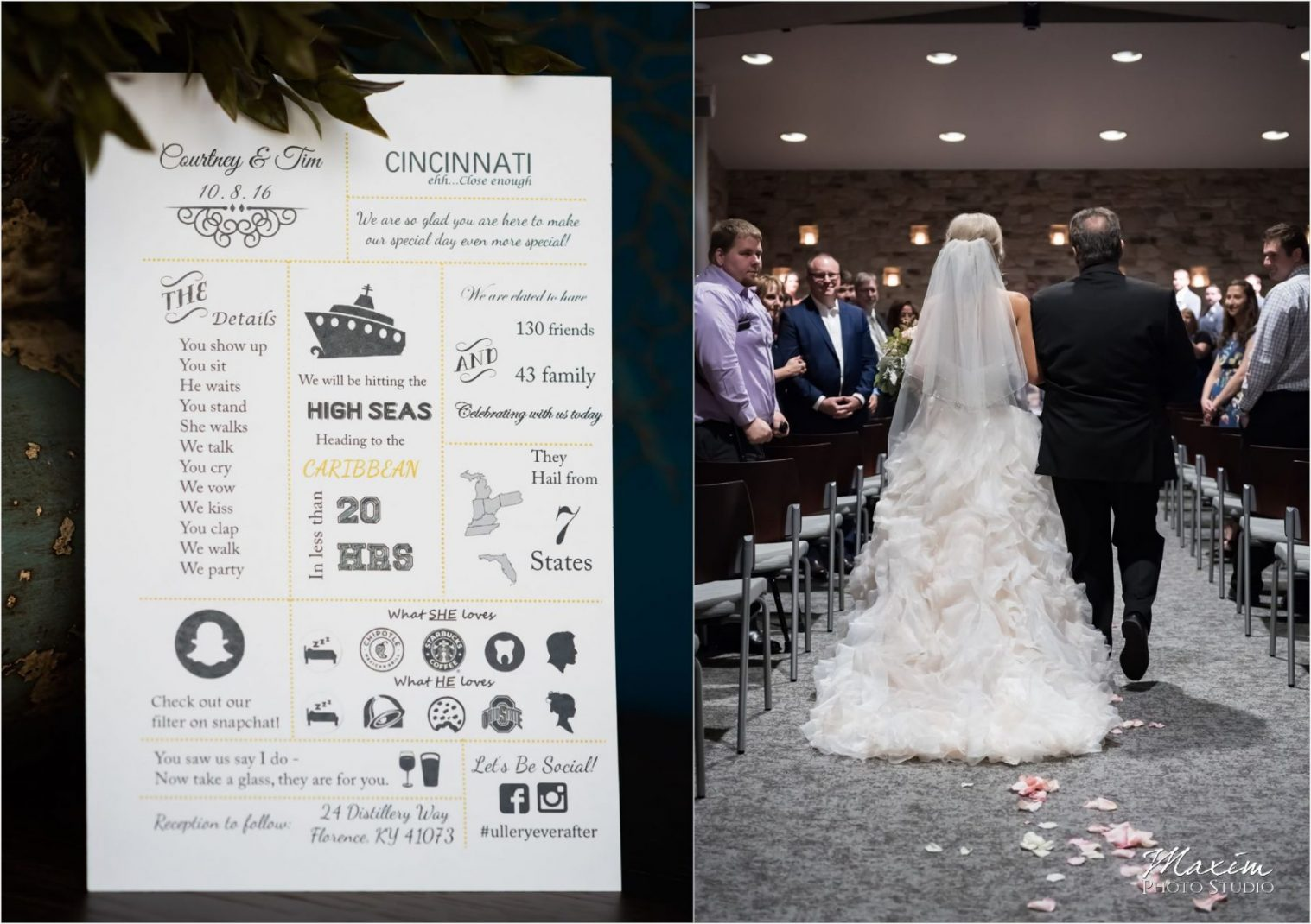 Crossroads Cincinnati Wedding Ceremony