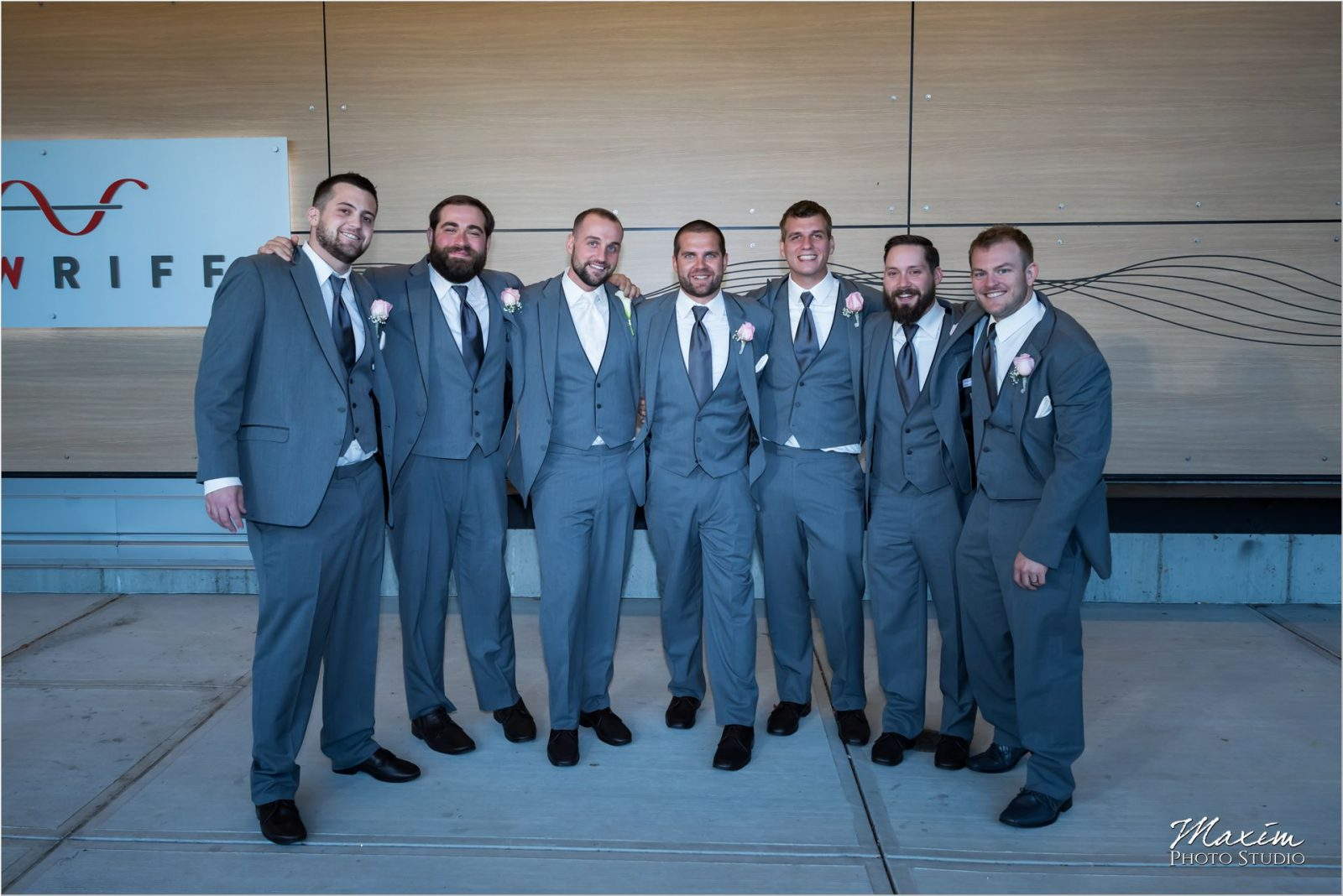 New Riff Wedding groomsmen