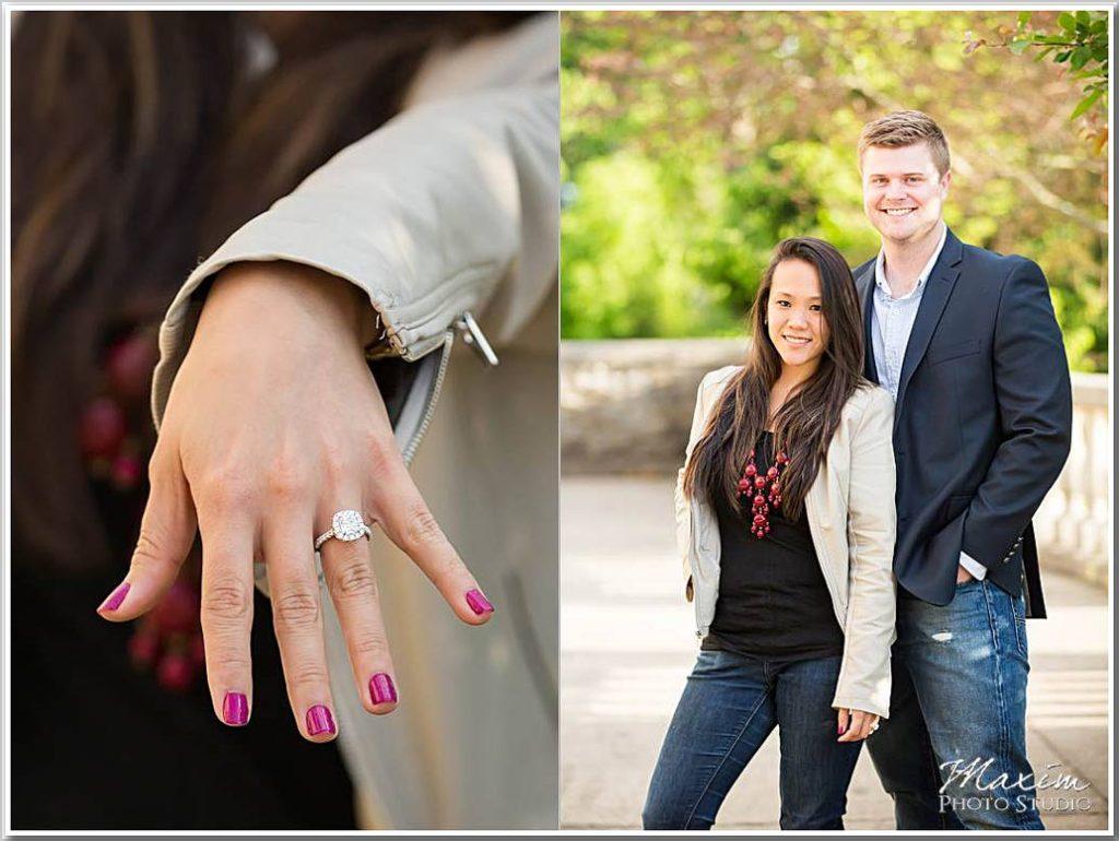 Ault Park wedding proposal photo tr 04