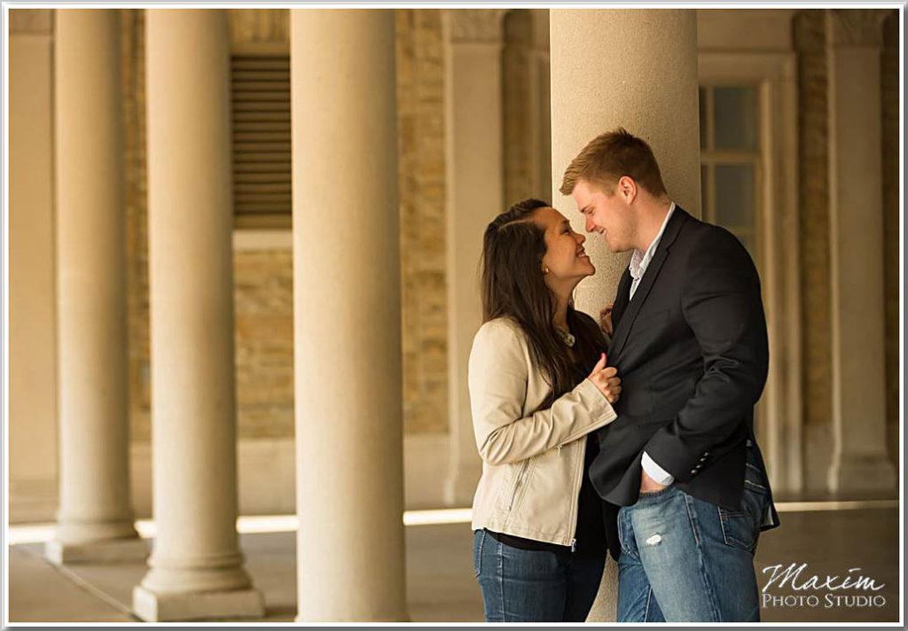 Ault Park Cincinnati Wedding Proposal photography