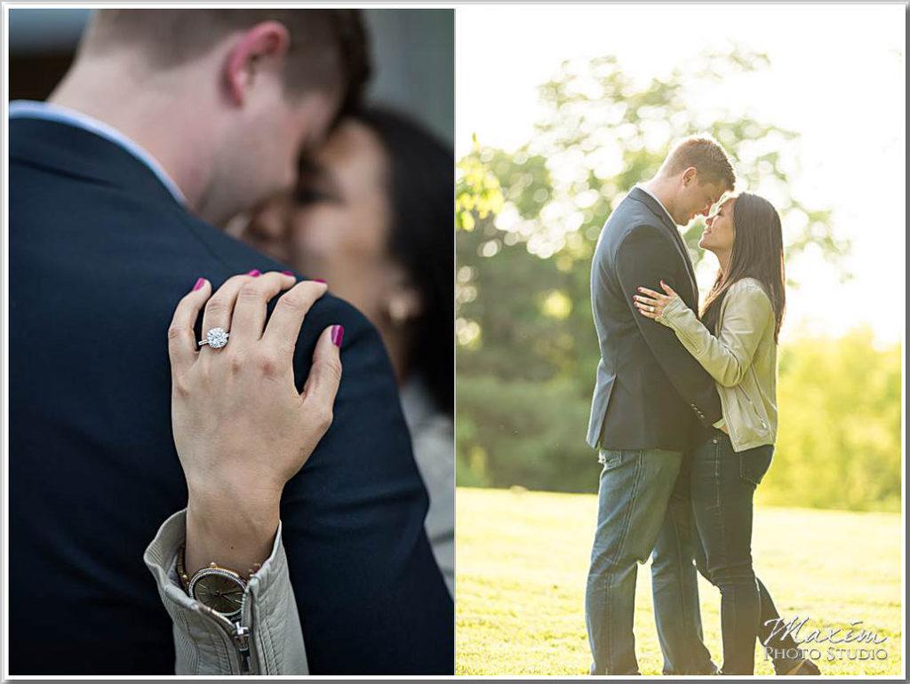 Ault Park Wedding Proposal Cincinnati