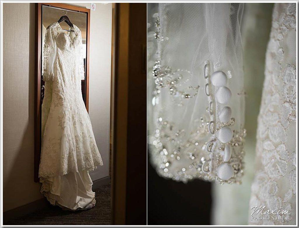 Westin Cincinnati Downtown Wedding dress