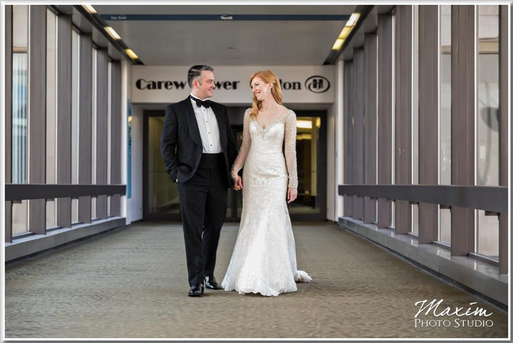 Cincinnati Art Museum wedding photography Carew Tower