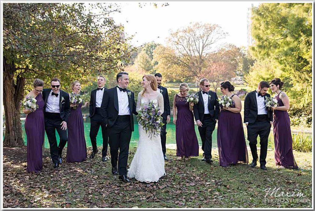 Cincinnati Art Museum wedding photography Eden Park Portraits