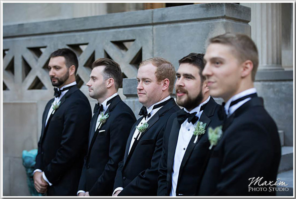 Cincinnati Art Museum Ceremony Wedding Phootography