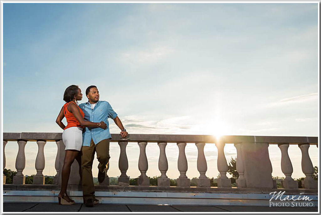 Ault Park Cincinnati Engagement Photography