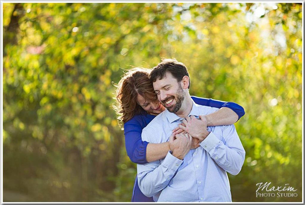 Dayton Wedding Photographers Cox Arboretum Engagement