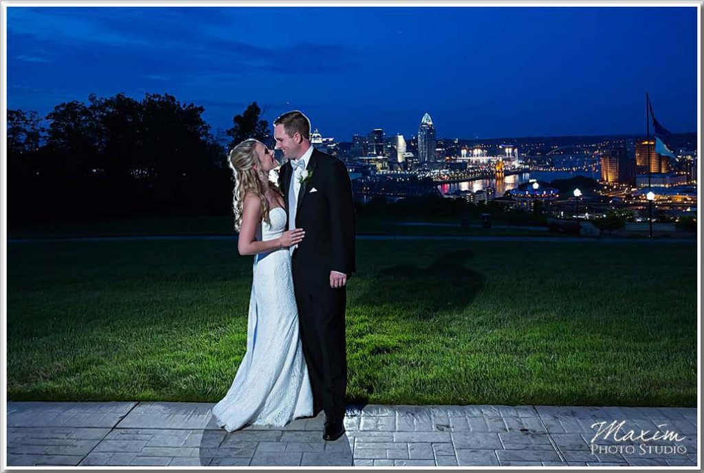 Drees Pavilion Wedding Cost Cincinnati Sunset
