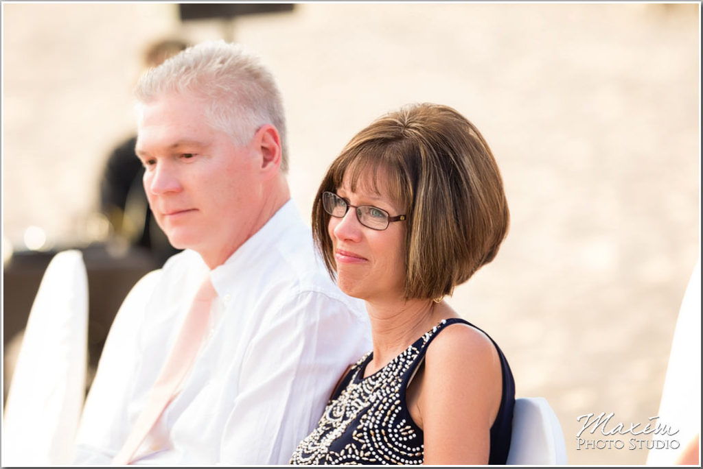 Mexico Wedding beach ceremony