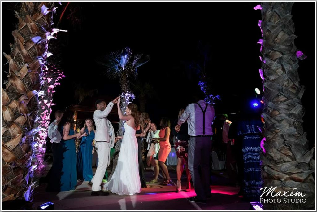 Wedding reception Pueblo Bonito Pacifica wedding
