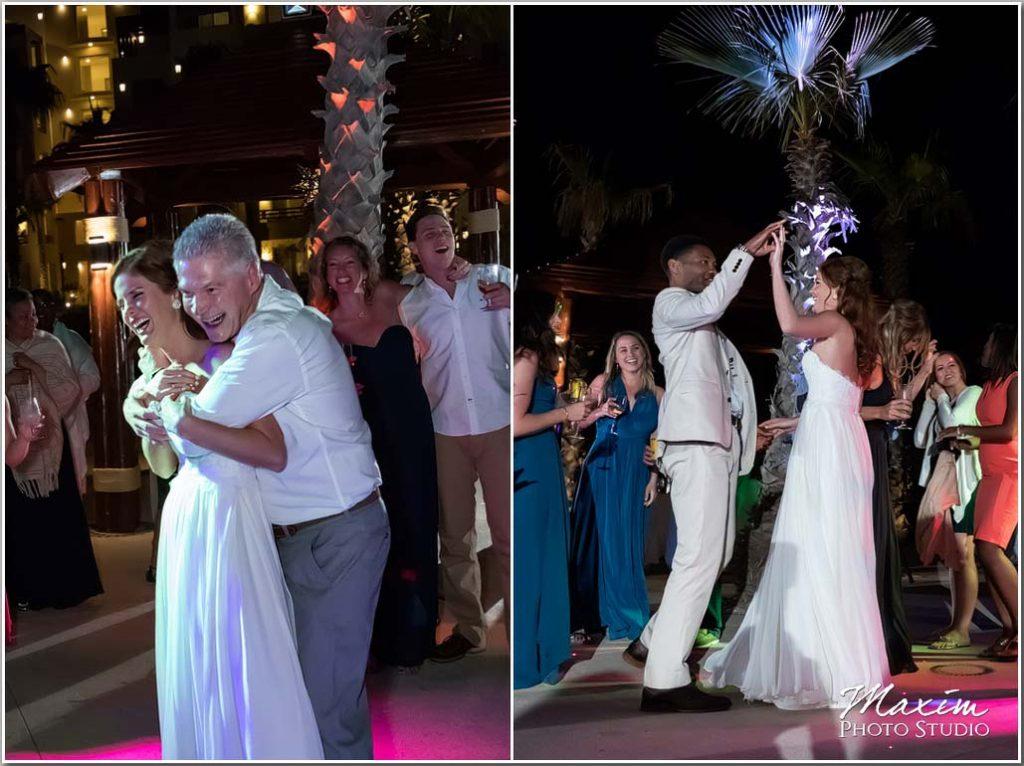 Cabo Mexico Wedding reception pictures