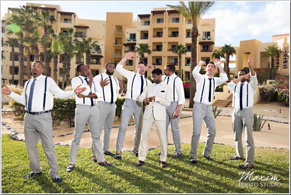 Mexico Destination Wedding groom