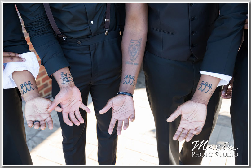 Drees Pavilion Wedding groomsmen
