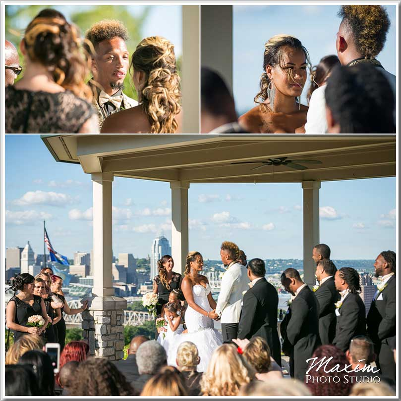 Drees Pavilion Wedding ceremony