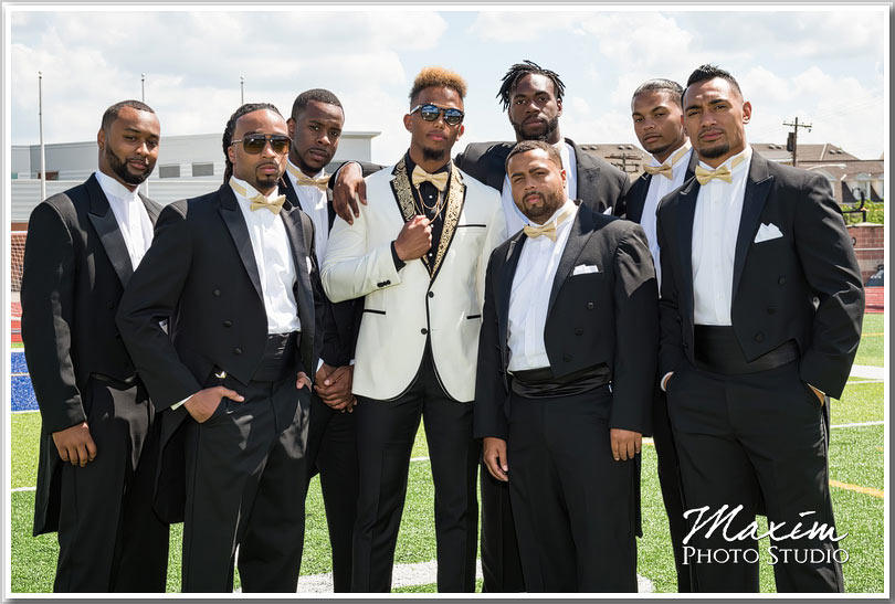 NFL wedding pictures