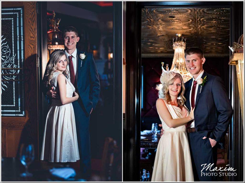 Carlo and Johnny Restaurant Wedding portrait