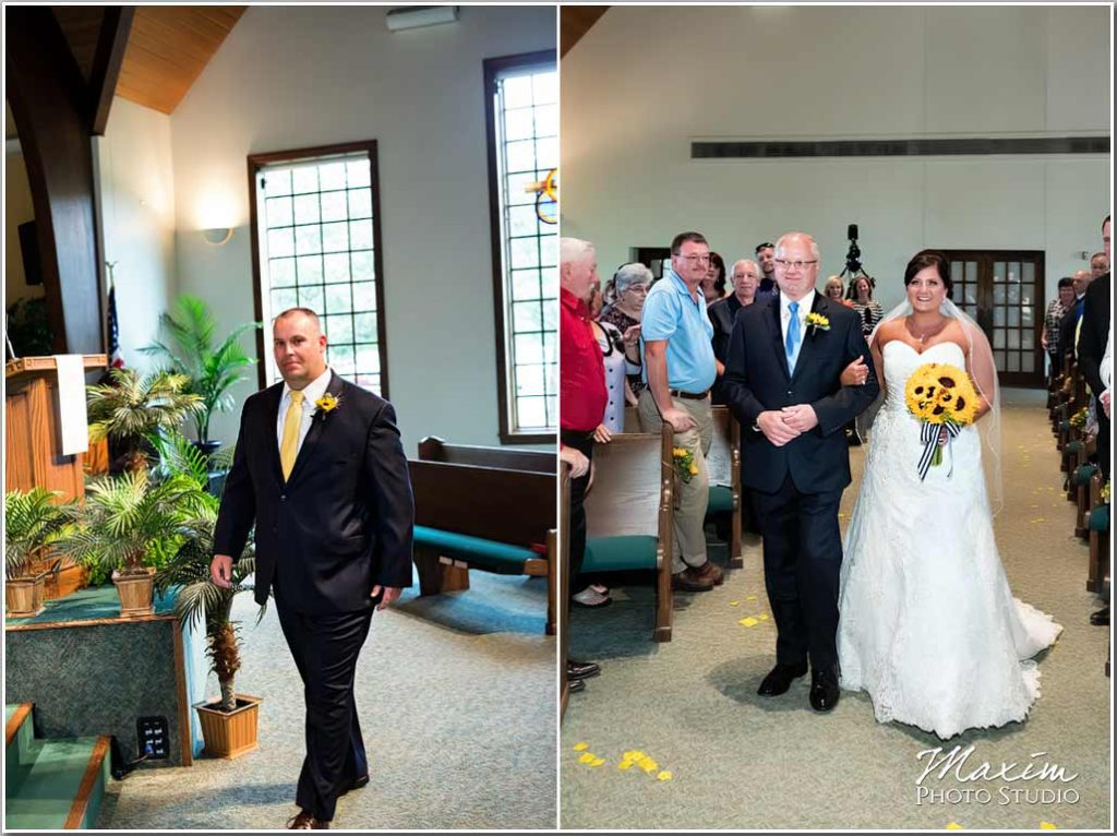 Wedding Photographers Dayton Ohio Normandy Church