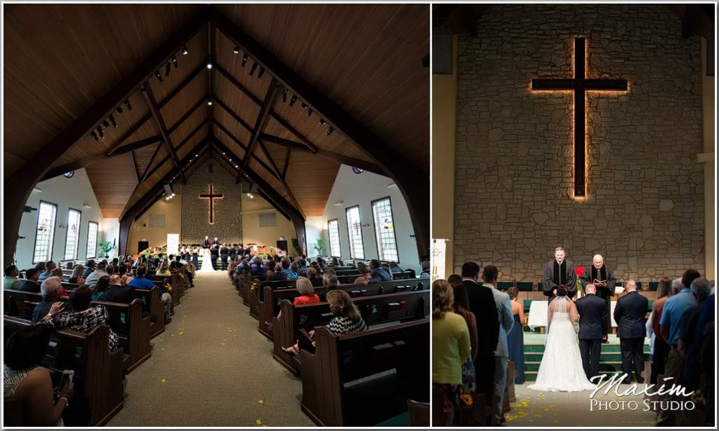 Dayton Wedding Photographer Normandy Church Dayton OH