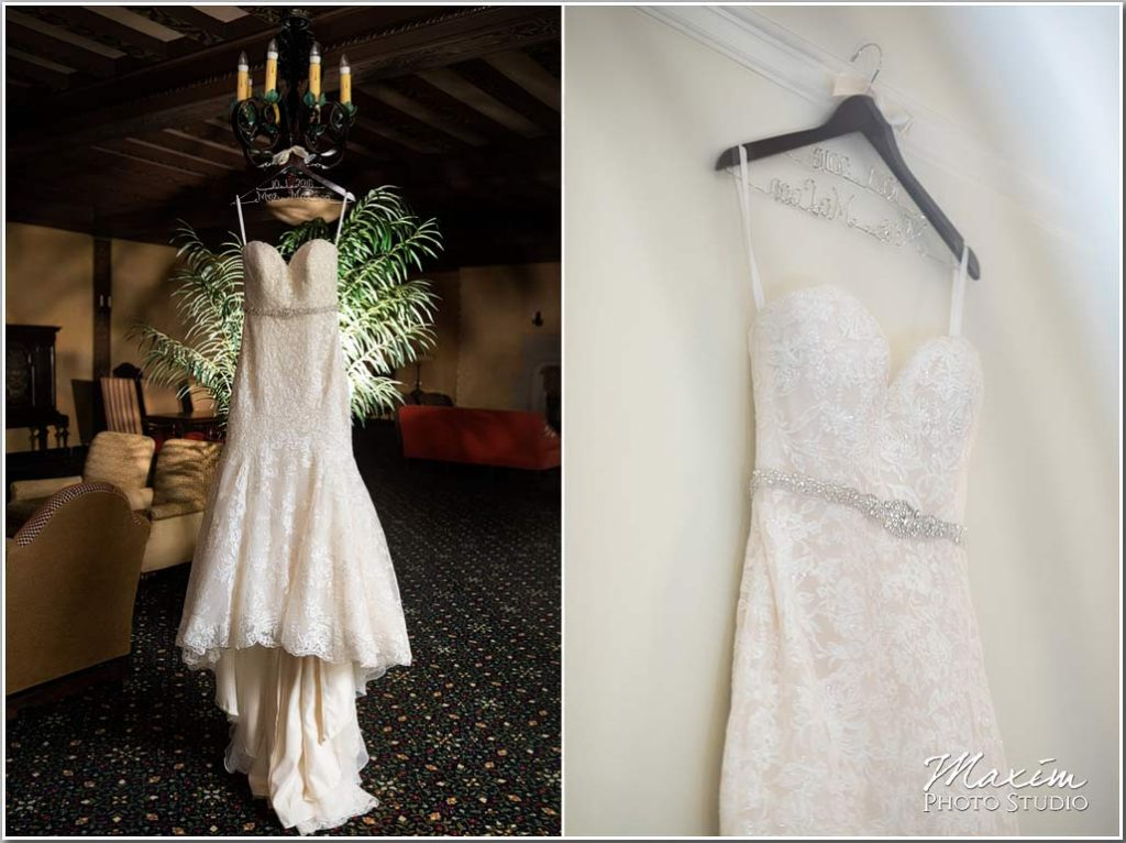 Dayton Masonic Center Wedding dress