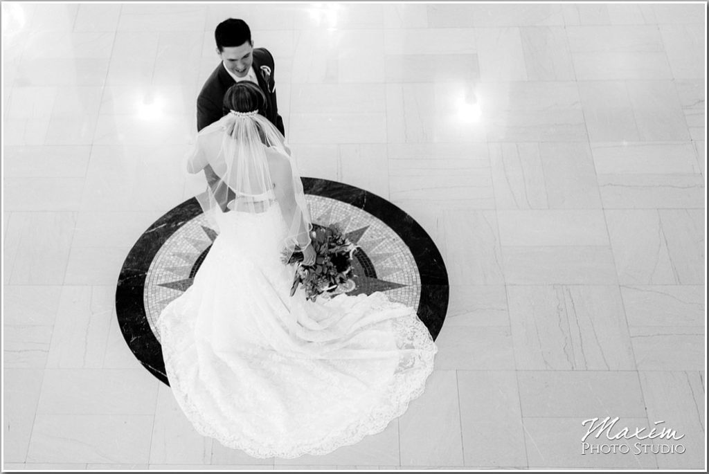 Masonic Center Bride Groom pictures