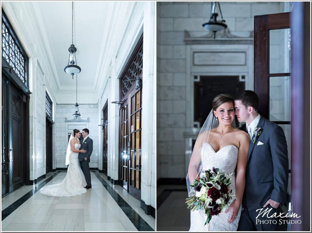 Dayton Masonic Center Wedding pictures