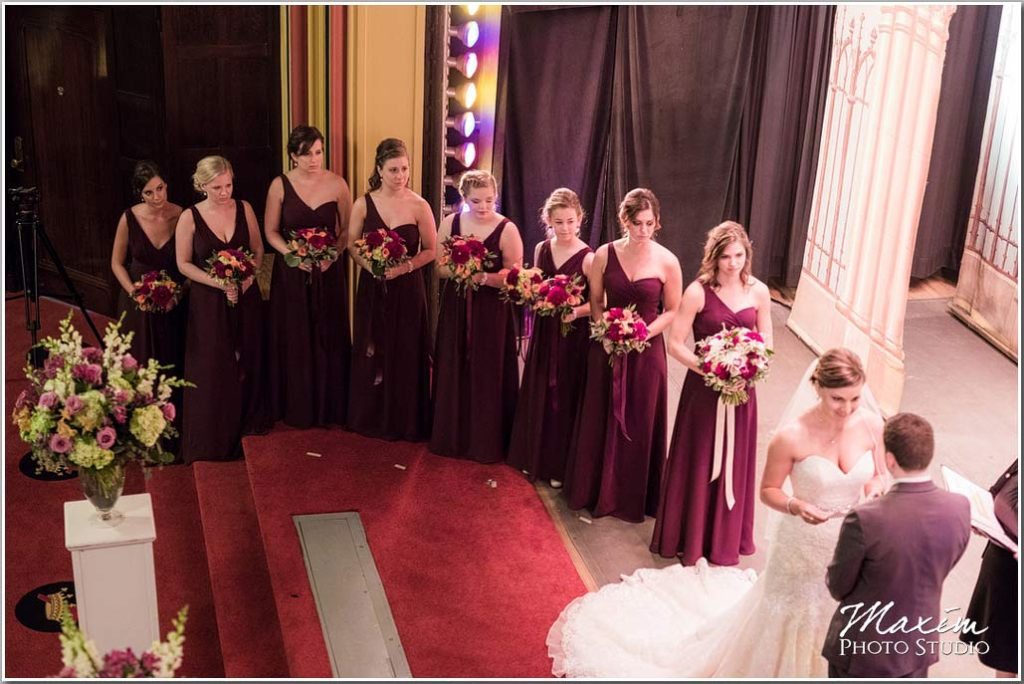 Dayton Masonic Center Wedding Ceremony