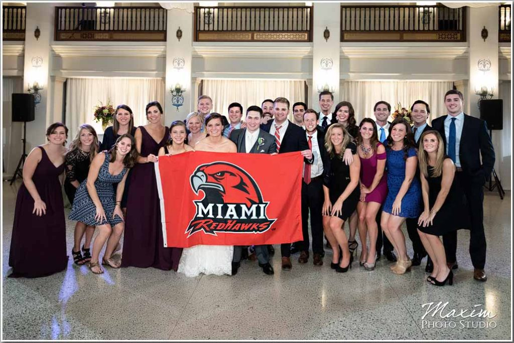 Dayton Masonic Center Miami of Ohio reception