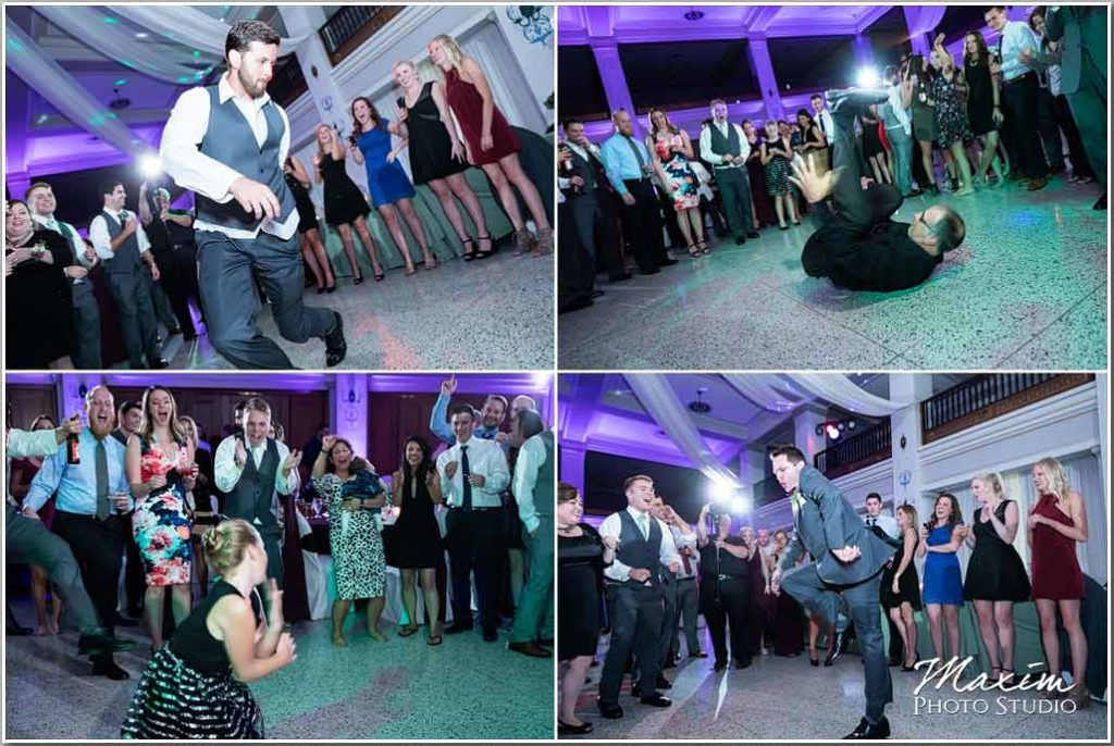 Masonic Center Dayton Ohio wedding reception dance