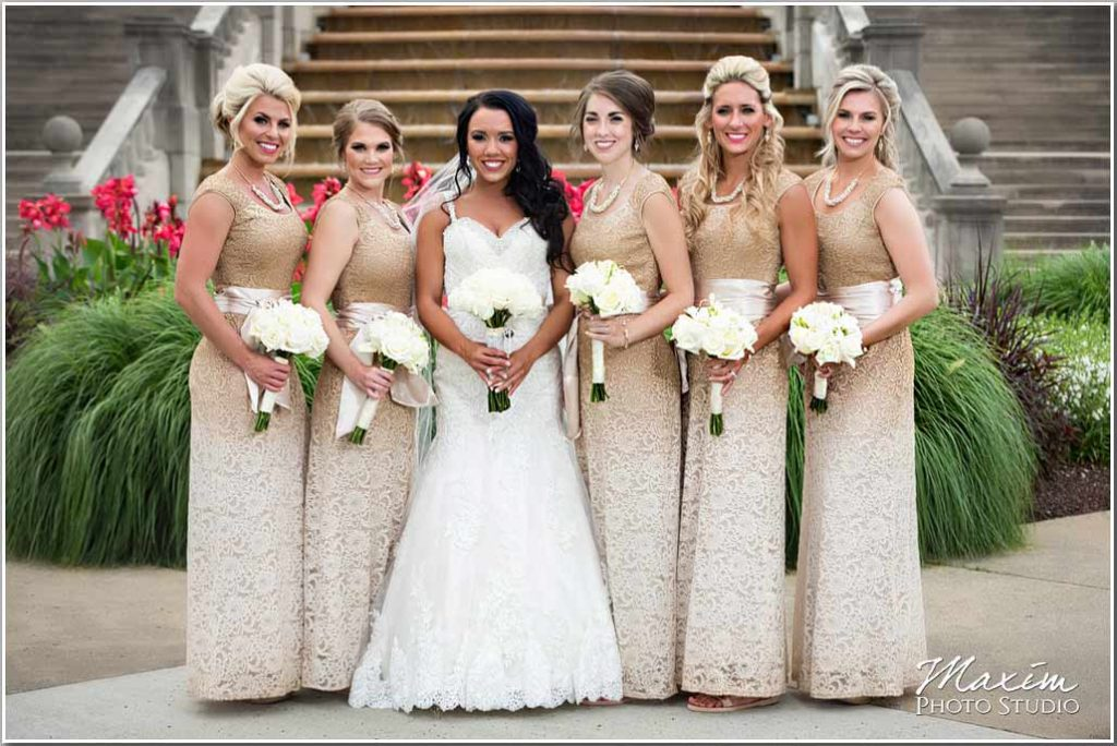 Ault Park Cincinnati Bridesmaids picture