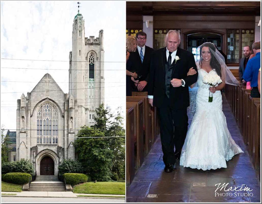 Hyde Park United Methodist Cincinnati Wedding ceremony