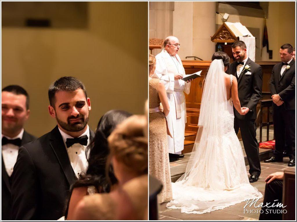 Hyde Park Drees Pavilion wedding ceremony