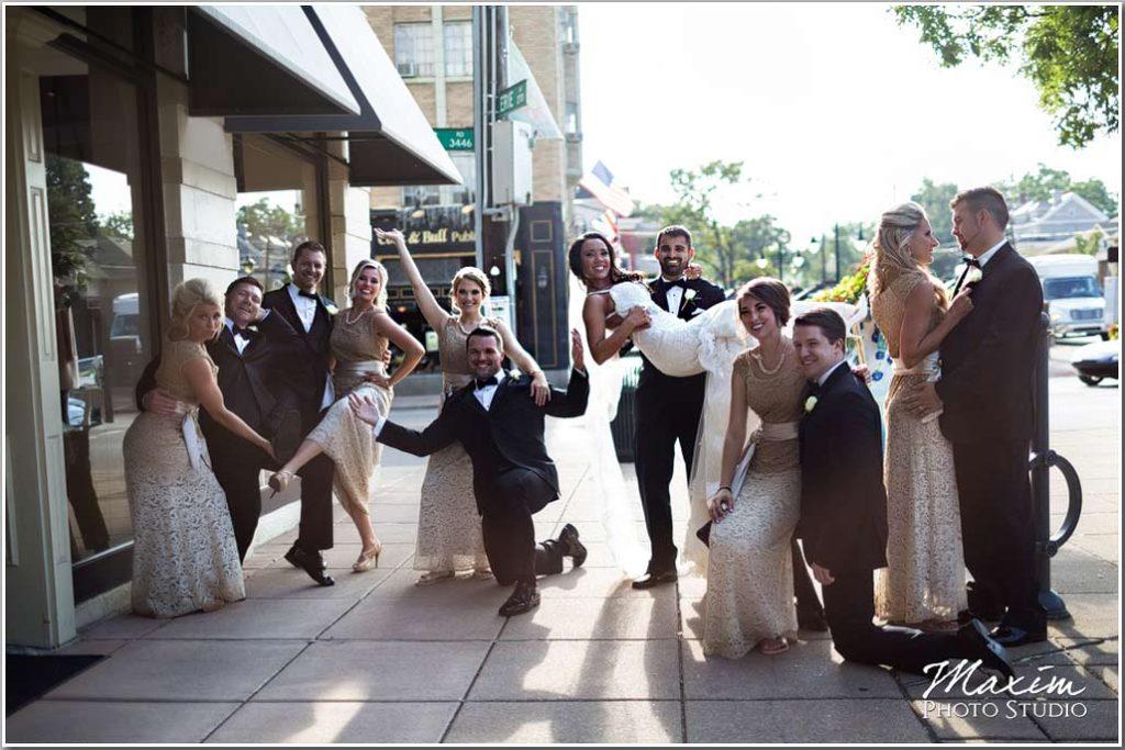 Hyde Park Cincinnati Bridal party